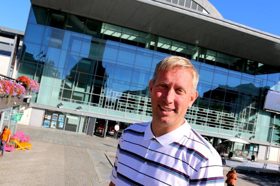 Terje Eikin, Varaordfører I Arendal, Kristelig Folkeparti. Foto: Esben Holm Eskelund