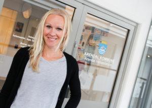 KURS: Barnefysioterapeut Mari Hoem Vil Tilby Kurs Til Foreldre I Familier Med Overvektige Barn. Foto: Grete Husebø