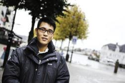 SØKER BOPEL: Kazuki fra Japan trenger et nytt sted å bo i Norge. Foto: Grete Husebø