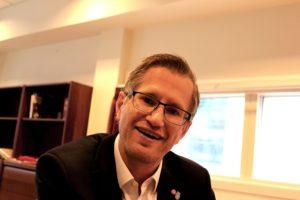 Ordfører I Arendal, Robert Cornels Nordli, Arbeiderpartiet. Foto: Esben Holm Eskelund