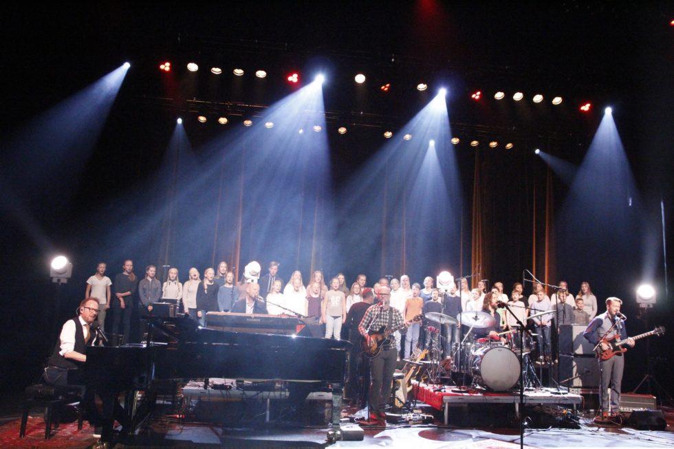 Tok Med Seg Barnekor På Konsertfinale