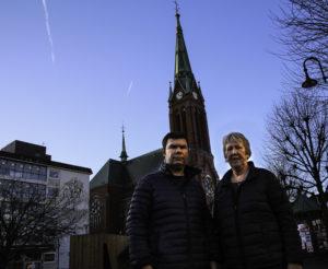 OPPRØR: Prost Kolbjørn Gunnarson Og Sokneprest Åsta Ledaal Raser Over Behandlingen Asylbarna I Norge Får. Foto: Grete Husebø