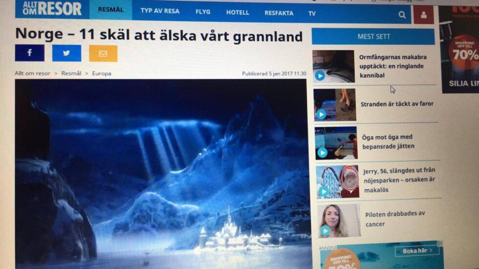 Ber Svenskene Elske Arendal