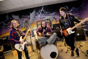UNDERWING: Bandet Har Satt Seg Langsiktige Mål, Og Satser På å Bli Kjent Både I Norge Og I Utlandet. Foto: Linda Dyrholm