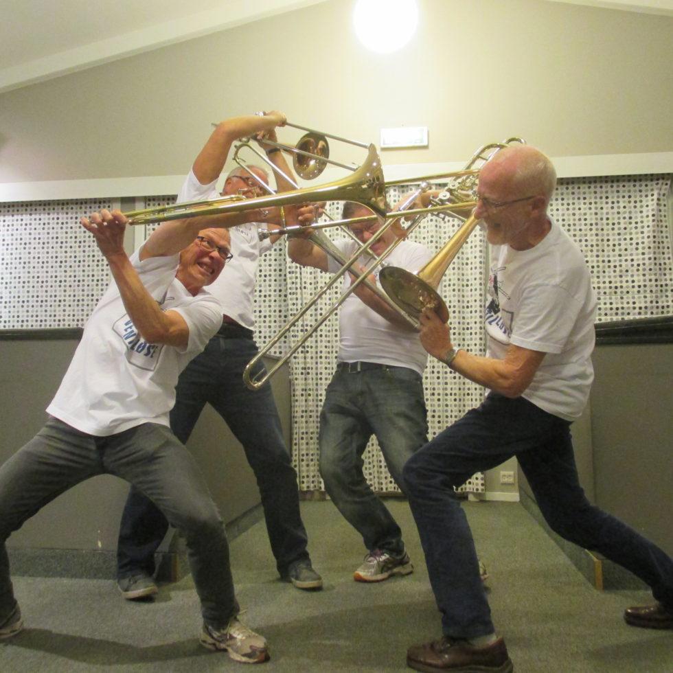 Trombonemenn Fyrer Løs Uten Ventiler