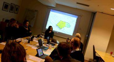 FOR MYE: Politikerne i kommuneplanutvalget i Arendal sier nei til forslaget om bygging av tolv nye leiligheter i fire boliger i Vikaveien. Foto: Esben Holm Eskelund