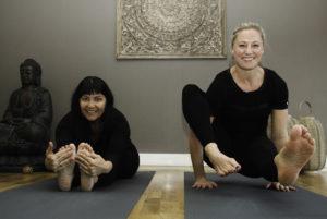 NYTT: Arendal Yogastudio Har åpnet I Ny Innpakning, Og Innehaverne Lena Dyveke Anderson (t.v.) Og Cecilie Olofsson Gleder Seg. Foto: Grete Husebø