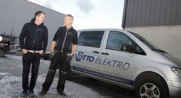 Geir Langemyr og Glenn Frode Bjørgan gikk sammen om å starte opp egen virksomhet etter fagskolen.