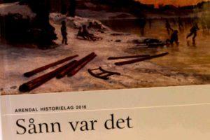 LOKALHISTORIE: Arendal Historielag Gir Ut årbok For 22. Gang I Serien «Sånn Var Det». Foto: Esben Holm Eskelund