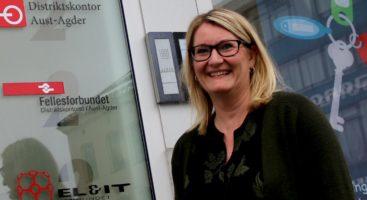 FYLKESORDFØRER: Aps Gro Bråten blir sannsynligvis fylkesordfører i Aust-Agder etter stortingsvalget. Arkivfoto: Esben Holm Eskelund