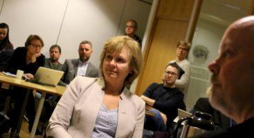 SAMBOERGARANTI: Høyres Maiken Messel fikk formannskapet i Arendal til å vedta samboergaranti ved behov for sykehjemsplass. Foto: Esben Holm Eskelund