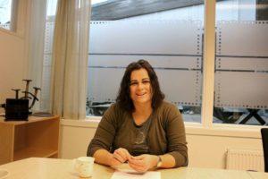 PULSEN PÅ ARENDAL: Nina Jentoft (Ap) Leder Kommuneplanutvalget I Arendal. Foto: Esben Holm Eskelund