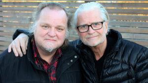 MUSIKERDUO: Knut Reiersrud Og Iver Kleive Gjester Arendal Kulturhus, Onsdag Kveld. Pressefoto