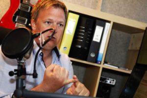 DAB-RADIO: Jonas Bording I Bording Media As I Arendal Har Fått Konsesjon For å Bygge Lokalt DAB-radionett I Aust-Agder. Arkivfoto