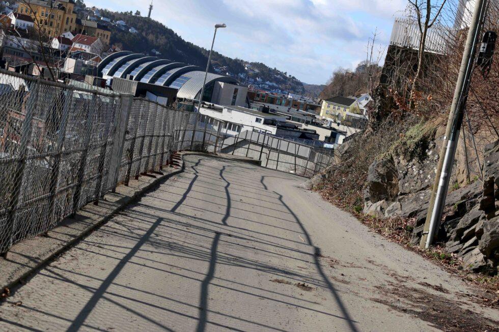 HØY FART: I Hylleveien Skal En Bil Ha Kjørt I Over 60 Km/t Da Trafikken Ble Målt I Fjor Høst. Det Er Ikke Utelukket At Veien Får Gjennomkjøringsforbud. Foto: Esben Holm Eskelund