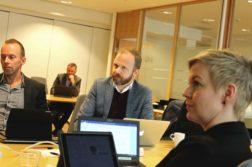 FAKTURAFRUSTRASJON: Høyres Kristoffer Lyngvi-Østerhus tok opp overgang til månedlig faktura i formannskapet torsdag. Foto: Esben Holm Eskelund