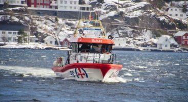 TIL BARBU: Redningsskøyta RS Inge Steensland er på vei tilbake til base i Barbu. Arkivfoto