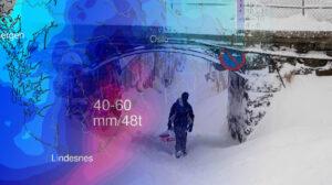KAN BLI HEFTIG: Snø Og Storm Lyder Varselet For Vårt Område Fra Lørdag Ettermiddag. Arkivfoto/Illustrasjon