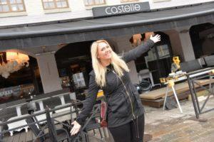 HUMOR: Therese Alvseide Satser Alt På Stand Up-humor I Arendal. Foto: Linda Dyrholm