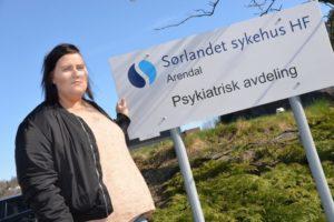 FOR DÅRLIG: Victoria Fjærestrand Føler Seg Dårlig Behandlet Av Sykehuset, Nå Tar Hun Saken Videre. Foto: Linda Dyrholm