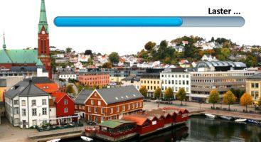 OPPDATERING PÅGÅR: Det er mange ting å glede seg over i utviklingen av Arendal. Foto/montasje: Esben Holm Eskelund