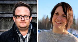 POLITISK PAUSE: Både Frps Åshild Bruun-Gundersen Og Aps Gjermund Orrego Bjørndahl Har Tatt Pause Fra Politiske Oppgaver Fremover. Fotomontasje/Arkiv