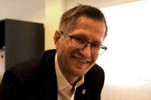 ORDFØRER I ARENDAL: Robert Cornels Nordli, Arbeiderpartiet. Foto: Esben Holm Eskelund