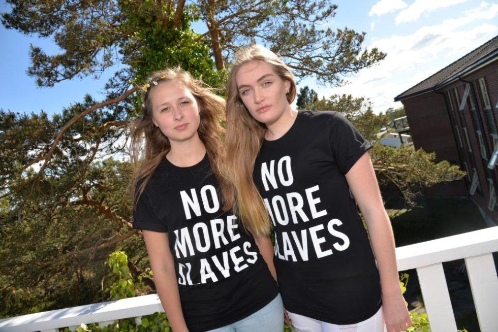 Ungdommer Aksjonerer Mot Menneskehandel