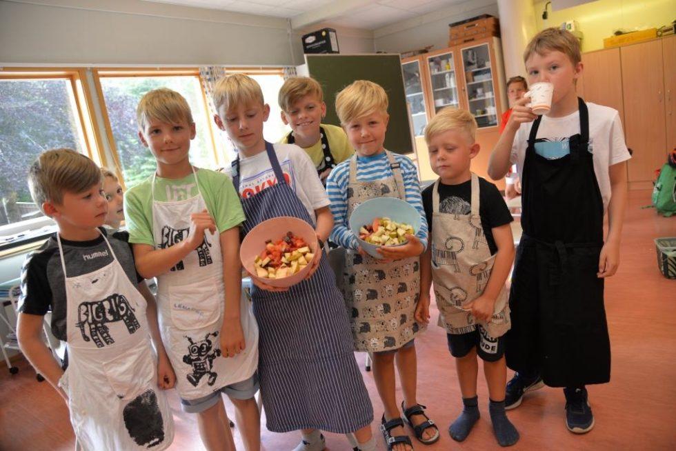 Kokkekurs Skal Få Barn Til å Like Fisk
