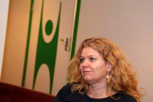 Organisasjonssekretær Marianne Løge. Arkivfoto