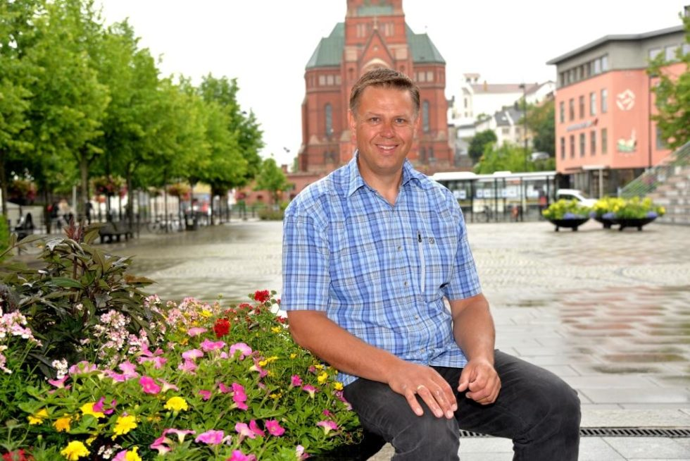 HJEMMETURIST:  Rune Guttormsen, Konstituert Turistsjef I Arendal. Foto: Linda Dyrholm