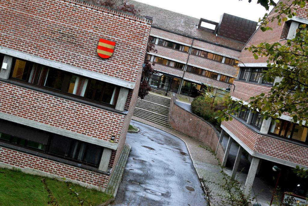 FYLKESHUSET: Om det er fylkeshuset på Fløyheia som vil huse Fylkesmannen og den nye fellesadministrasjonen fra januar 2019 er ikke kjent. Arkivfoto: Esben Holm Eskelund