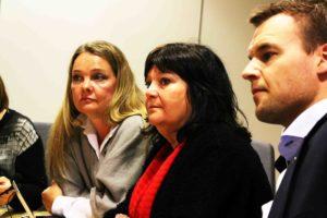 UTMELDT: Stortingsrepresentant Ingebjørg Amanda Godskesen (midten) Meldte Seg Ut Av Frp Natt Til Tirsdag. Arkivfoto: Esben Holm Eskelund
