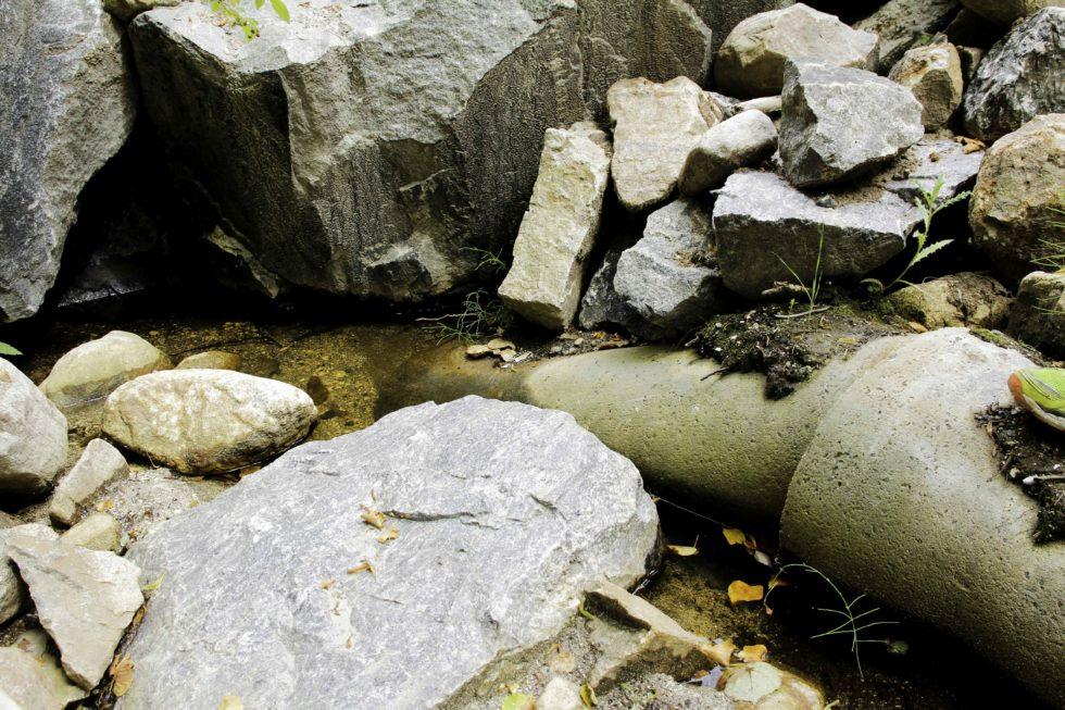 Steinfylling Kan Ha ødelagt Sjøørretbekk