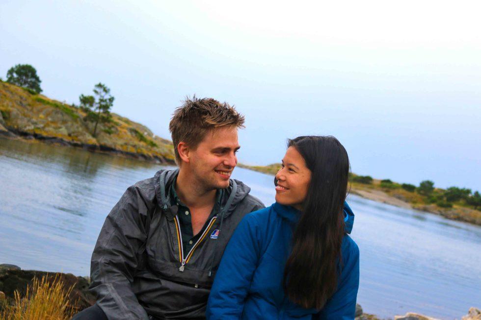 MDG-paret Ferierte Ved Nasjonalparken