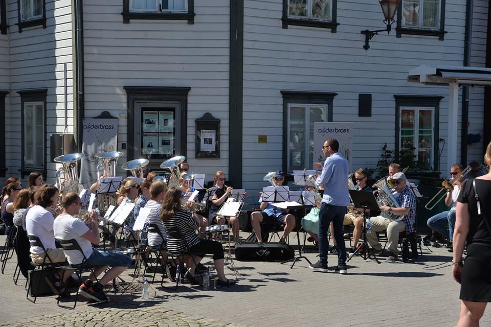 BRASSBAND: Agder Brass Inviterer Til Storslått Konsert I Arendal Kulturhus 22. September. Pressefoto