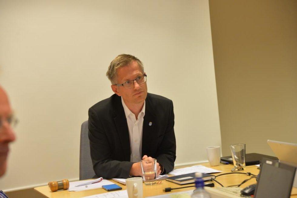 FIKK STØTTE: Ordføreren Redegjorde For Hendelsene Som Førte Til Utestengelse Av SIAN Under Arendalsuka. Foto: Linda Dyrholm