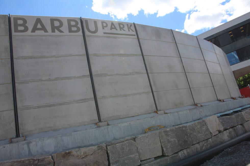 KLAGEMUREN: Bygging Av Støyskjerm I Barbu Ble En Av Sommerens Store Klagesaker I Arendal. Arkivfoto