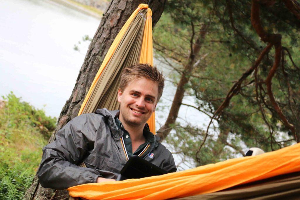 STORTINGSPLASS: Tvedetstrandsmannen Eivind Trædal suser inn på Stortinget for Miljøpartiet i en ny meningsmåling. Arkivfoto: Esben Holm Eskelund