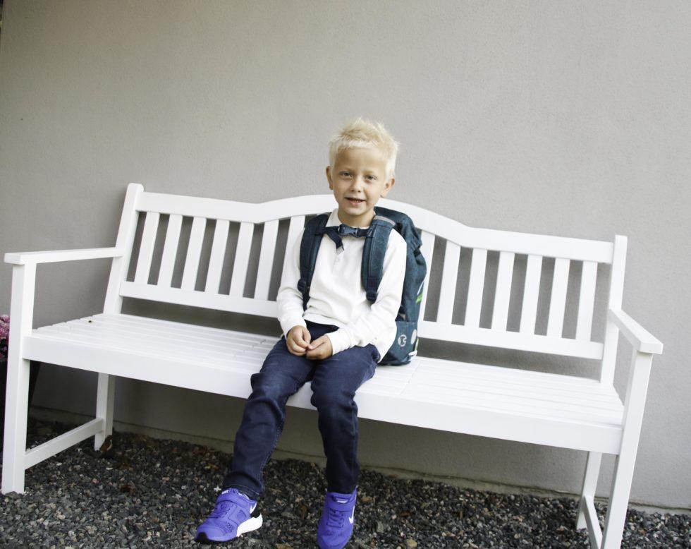 SNART AVREISE: Med Alt Pakket Og Klart Er Det Snart Klart For å Dra På Skolen.