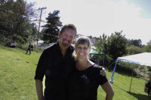 ENGASJERTE: Tom Rudi Torjussen Og Mari Dale ønsker å Skape Liv På Spornes. Neste år Håper De På Dobbelt Så Stor Festival. Foto: Grete Helgebø