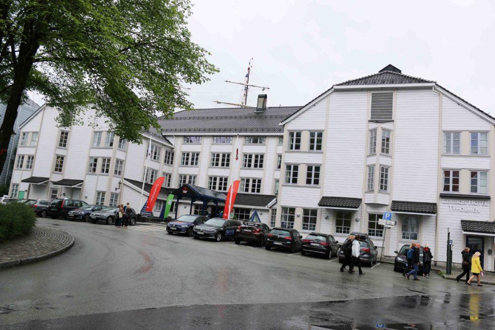 Hotellet Bygget Ulovlig Kontor