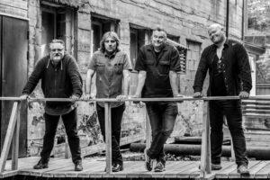 ARENDALSBAND: Gutta I Bandet The Bastard Sons Of Sam Eyde Serverer Musikk Fra Led Zeppelin Lørdag Kveld. Pressefoto