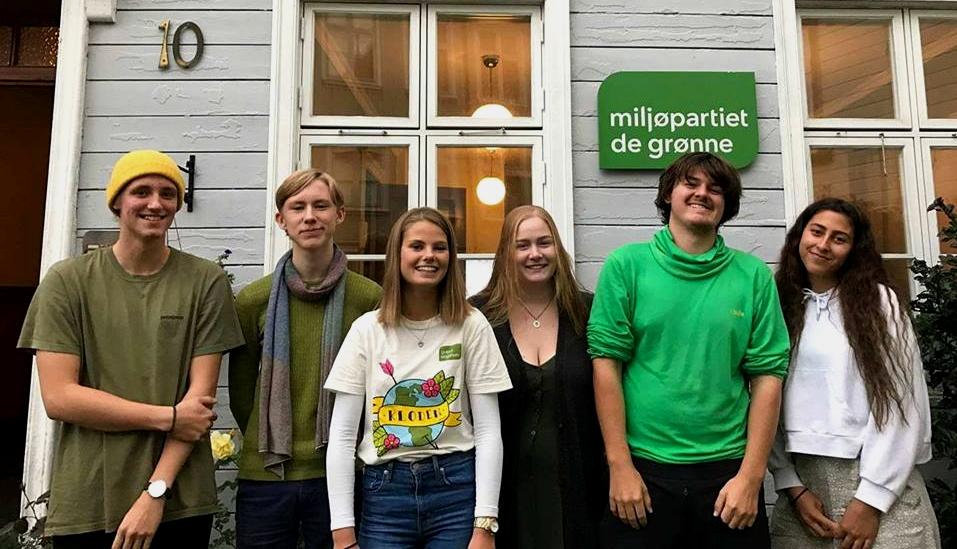 Grønne Ungdommer Valgte Nytt Styre