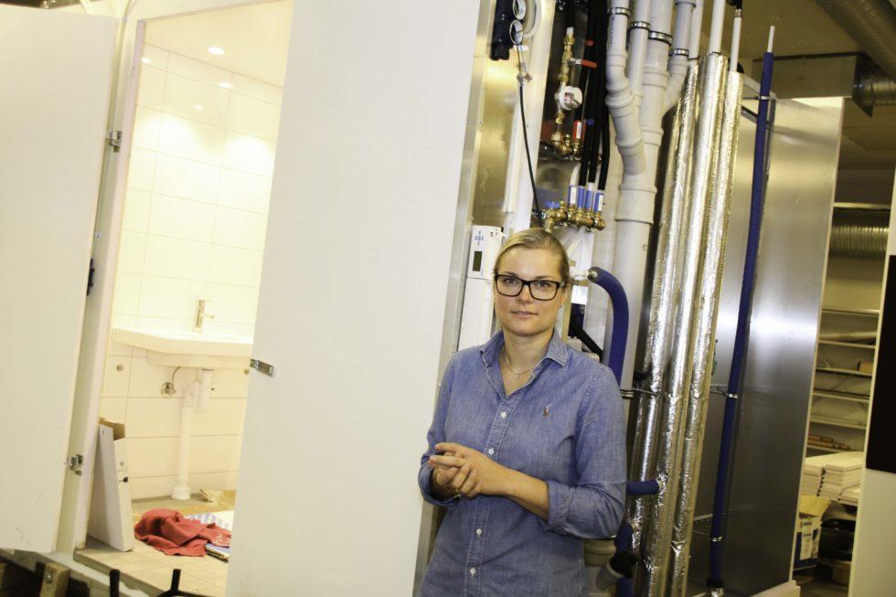 FORNØYD: Ellen Knudsen Er Godt Fornøyd Med At Driften Hun Leder Får Vokse. Foto: Grete Helgebø