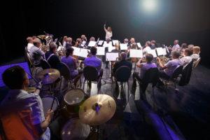 """BYORKESTER: Arendal Byorkester Er Kveldens Musikalske Vert På """"Den Store Høstkonserten"""". Foto: Jan Espen Thorvidsen"""