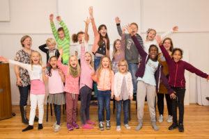 ENTUSIASTISKE: Å Synge I Kor Er Kjempegøy! Foto: Mona Hauglid