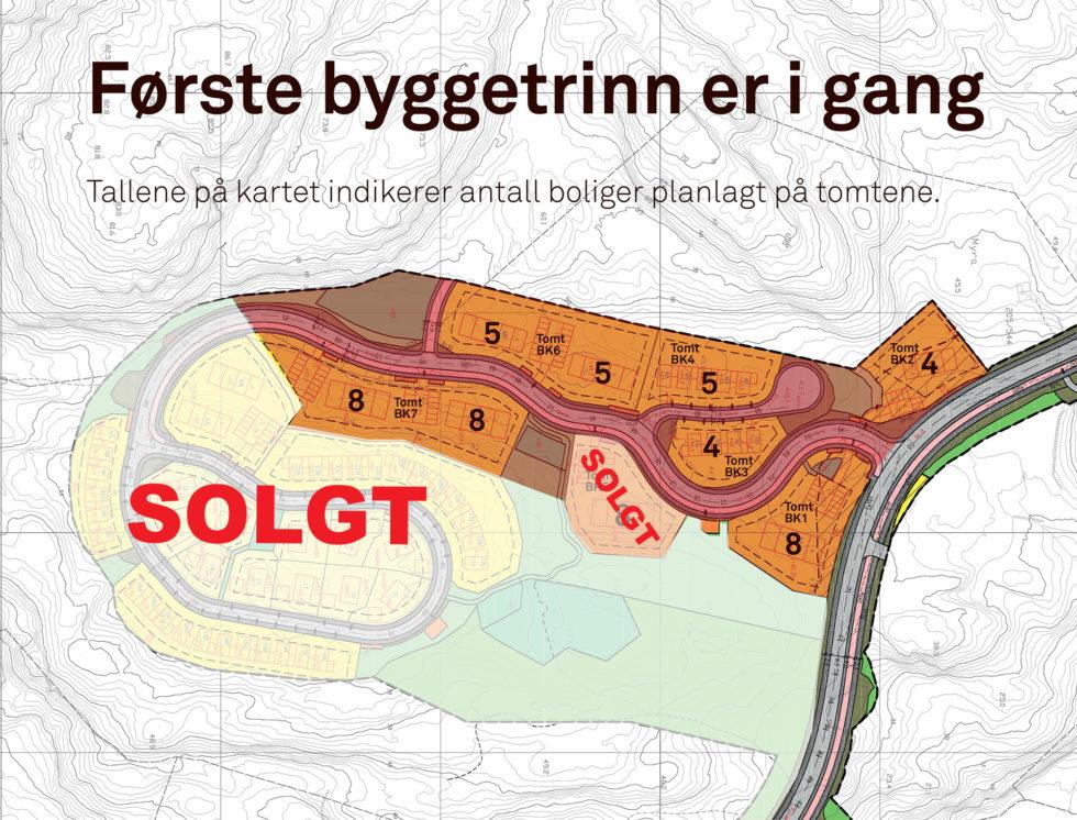 Solgte Ut Tomter På Marisberg