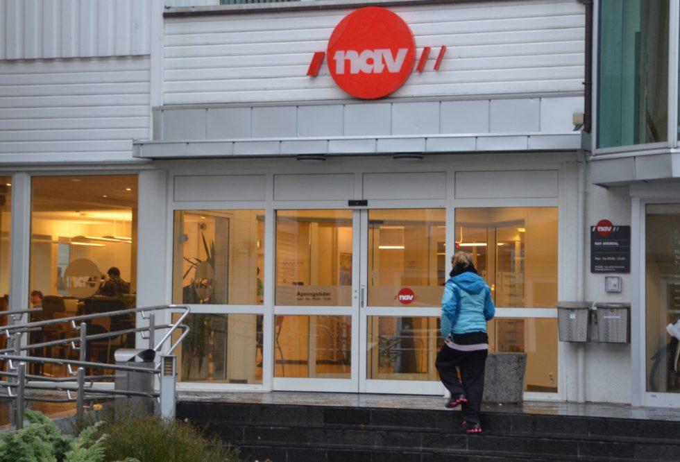 Bombetrussel På NAV-kontoret I Arendal