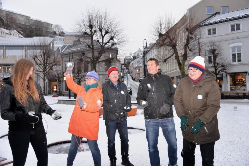 Klare For Vinterlige Aktiviteter I Byen